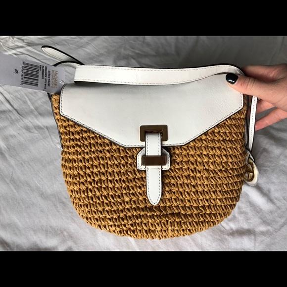 feaeca1b3a2004 Michael Kors Bags | Nwt Straw Naomi Bag | Poshmark
